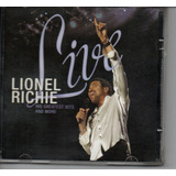Cd Lionel Richie   Live