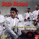 Cd Little Richard She Knows How To Rock Anos 50 Duplo Import