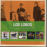 Cd Los Lobos   Original Album Series Box Cm 5 Cds