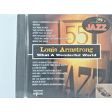 Cd Louis Armstrong What A Wonderful World   Lacrado   N5