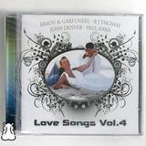 Cd Love Songs Vol 4 Simon Garfunkel Bj Thomas Novo Lacrado
