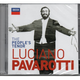 Cd Luciano Pavarotti   The Peoples Tenor  Cd Duplo