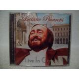 Cd Luciano Pavarotti  Live In Concert  Importado  Lacrado