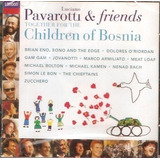 Cd Luciano Pavarotti And Friends   For The Children Of