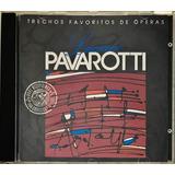 Cd Luciano Pavarotti Trechos Favoritos   C1