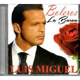 Cd Luis Miguel   Boleros La Barca