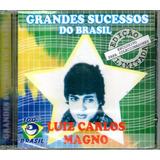 Cd Luiz Carlos Magno Grandes Sucessos Do Brasil