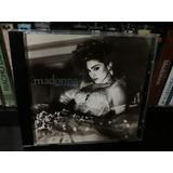 Cd Madonna Like A Virgin 10 Faixas Com Into The Groove   Imp