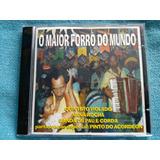 Cd Maior Forró Mundo Quinteto Violado Banda Pau E Corda 1997
