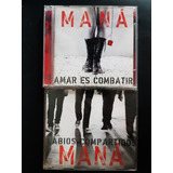 Cd Maná   Amar Es Combatir   Cd Single Lábios Compartidos