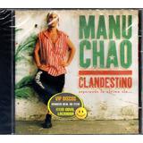 Cd Manu Chao Clandestino   Original Novo Lacrado Raro