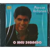 Cd Marcos Antônio O Meu Segredo Bônus Pb