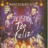 Cd Marcos E Belutti   Acustico