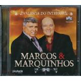 Cd Marcos E Marquinhos Valente Do Interior Bônus Pb