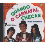 Cd Maria Bethânia Quando Carnaval Chegar Remaster Lacrado