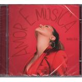 Cd Maria Rita   Amor E Música