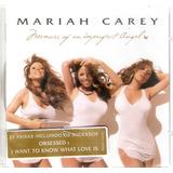 Cd Mariah Carey   Memoirs Of An Imperfect Angel