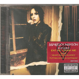 Cd Marilyn Manson   Eat Me Drink Me  c  Heart Shaped Glasses
