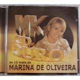 Cd Marina De Oliveira  Mk Cd Ouro 10 Mais
