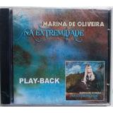 Cd Marina De Oliveira  Na Extremidade Playback Frete Grátis