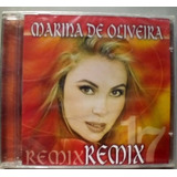 Cd Marina De Oliveira  Remix 17 Tiragem Aa