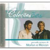 Cd Marlon E Maicon   Coleções Grandes Sucessos