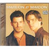 Cd Marlon E Maicon Por Te Amar Assim Lacrado Selo Indie 2001