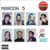 Cd Maroon 5  Red Pill Blues Target Exclusive 4 Faixas Extras