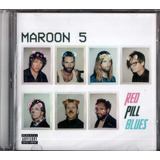 Cd Maroon 5 Red Pill Blues 2017 Lacrado