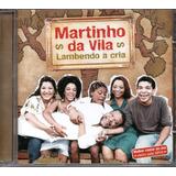 Cd Martinho Da Vila   Lambendo A Cria   Jbm