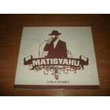 Cd Matisyahu   Live At Stubbs s  importado  Digipack
