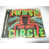 Cd Maxi Single Alemão Raríssimo Inner Circle   Bad Boys