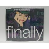 Cd Maxi Single Ce Ce Peniston   Finally