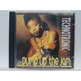 Cd Maxi Single Technotronic Pump Up The Jam Raro 1989