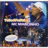 Cd Mc Marcinho   Tudo É Festa