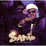 Cd Mc Sapão Original   Ao Vivo Funk Lacrado