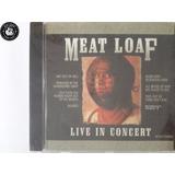 Cd Meat Loaf Live In Concert   Lacrado   H3