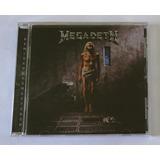 Cd Megadeth   Countdown To Extinction Importado Lacrado Novo