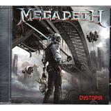 Cd Megadeth   Dystopia