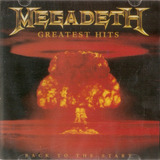 Cd Megadeth   Greatest Hits