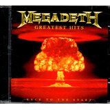Cd Megadeth   Greatest Hits