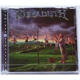 Cd Megadeth   Youthanasia Expanded Novo Lacrado Importado Eu