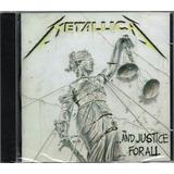 Cd Metallica ...and Justice For All Novo Lacrado Original