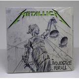 Cd Metallica   And Justice For All Digipack  Importado 2018