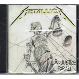 Cd Metallica   And Justice Forall