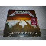 Cd Metallica   Master Of Puppets 1986 Br Minivinil Lacrado