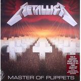 Cd Metallica   Master Of Puppets Digipack Lacrado De Fabrica