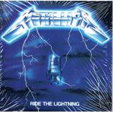 Cd Metallica   Ride Lightning   Capa Fininha Digipac