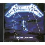 Cd Metallica   Ride Lightning