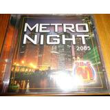 Cd Metro Night 2005 Dj Antoine Estado Novo